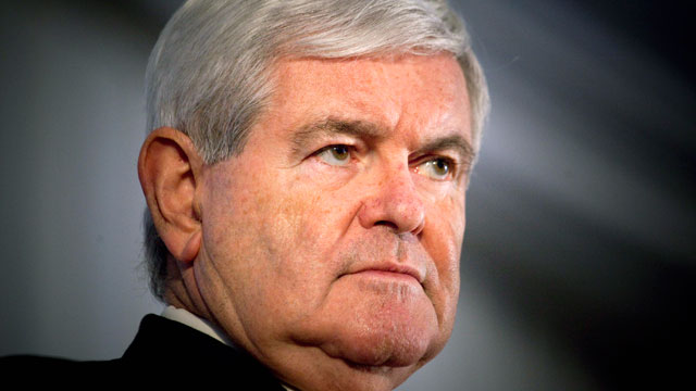 PHOTO: Republican presidential candidate Newt Gingrich speaks at a town hall meeting, Dec. 3, 2011 in the Staten Island borough of New York City.