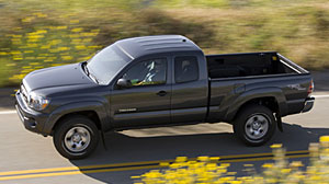Photo: 2009 Toyota Tacoma bought back by a dealer in California