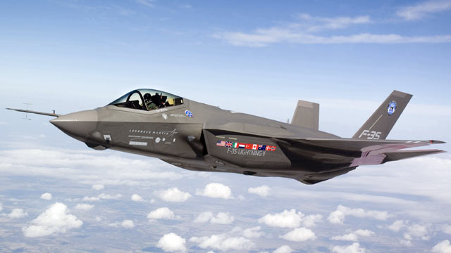 PHOTO: F-35 Joint Strike Fighter Lightning II test aircraft AA-1 undergoes flight testing over Fort Worth, Texas.