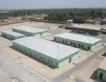 PHOTO: Northern Portion of Afghan police facility, Imam Sahib, in Emam Saheb, Konduz, Afghanistan.