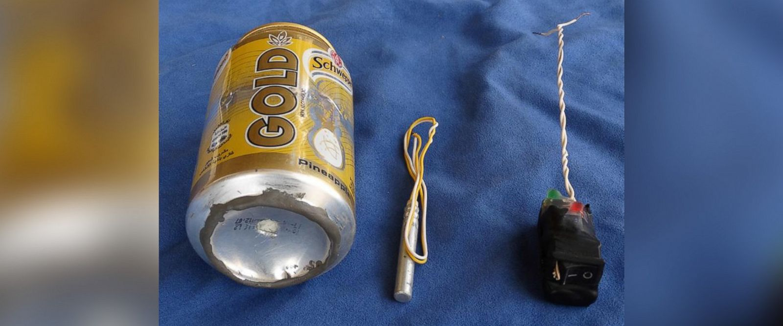 PHOTO: ISIS claims this is an image of the bomb that brought down a Russian airliner in late October over Egypt.
