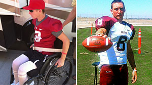 Photo: ATV Dangers: Should There Be An Age Limit for Riders? High School Quarterback Paralyzed in ATV Accident