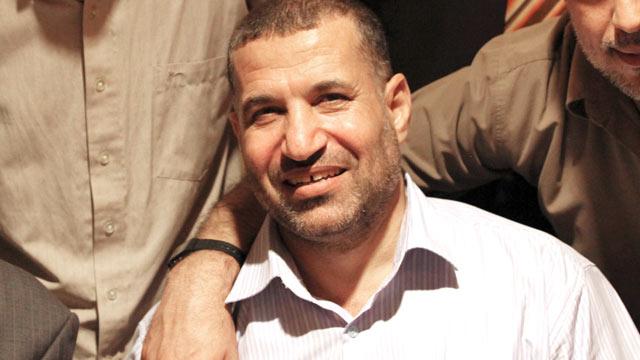 PHOTO: Hamas militant leader Ahmed al-Jabari is seen posing in Cairo, Oct. 18, 2011.
