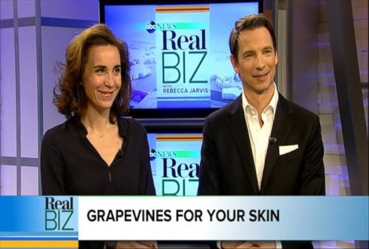VIDEO: Wine Grapes: The Next Big Secret to Beautiful Skin