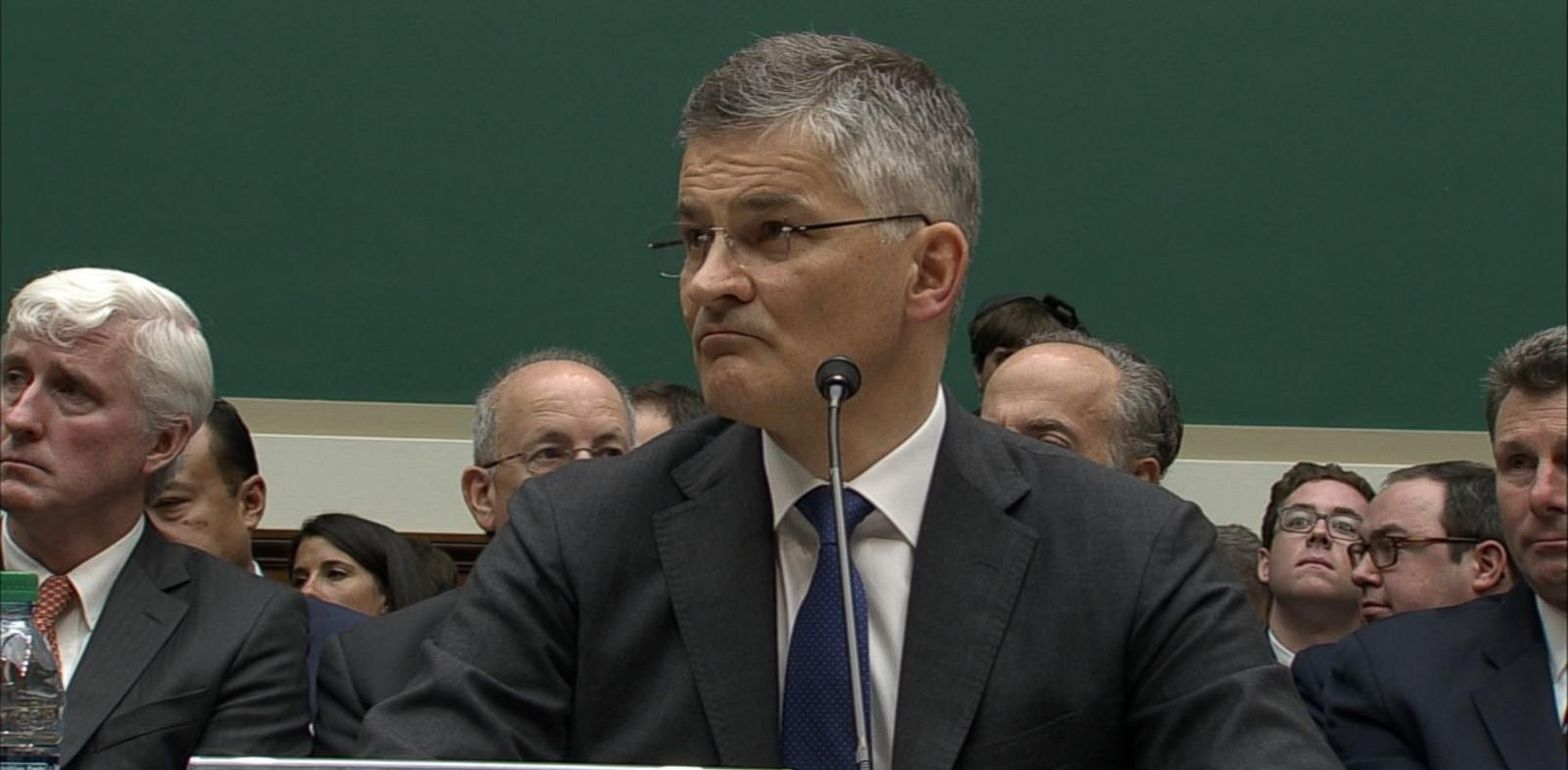 VIDEO: Michael Horn, president and CEO of Volkswagen Group of America, addressed heated questions from lawmakers about the company's emissions scandal.