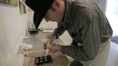 VIDEO: One Wyoming Cowboy Is Working Overtime to Prep His Chocolate Truffles for Valentines Day