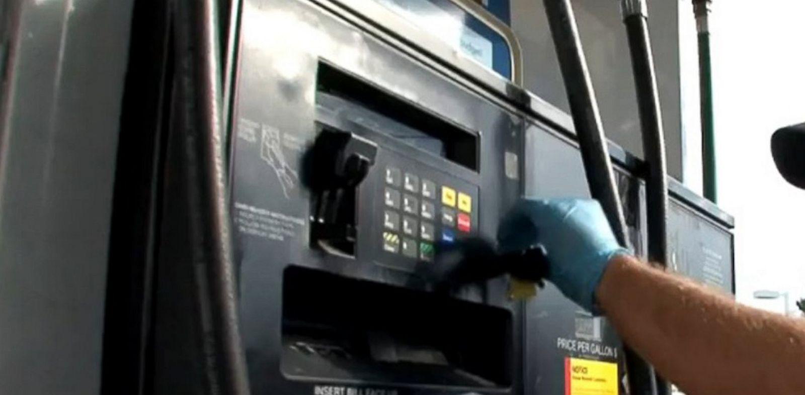 PHOTO: gas pump.