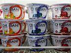 PHOTO: Chobani Greek Yogurt is seen at the Chobani plant in South Edmeston, N.Y., Jan. 13, 2013.
