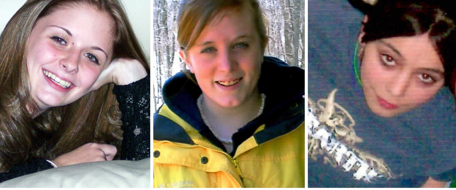 PHOTO: This combination of undated family photos shows, from left, Amber Marie Rose, Natasha Weigel, and Amy Rademaker. All three were killed in deadly car crashes involving GMs Cobalt during 2005-2006.