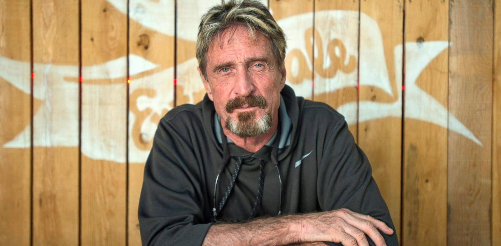 PHOTO: Antivirus pioneer John McAfee poses for a photograph in Montreal, Aug. 24, 2013.