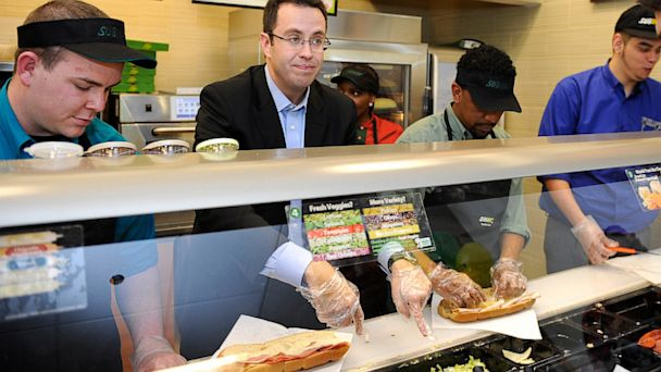 "PHOTO: Jared ""The SUBWAY Guy"" Fogle,"