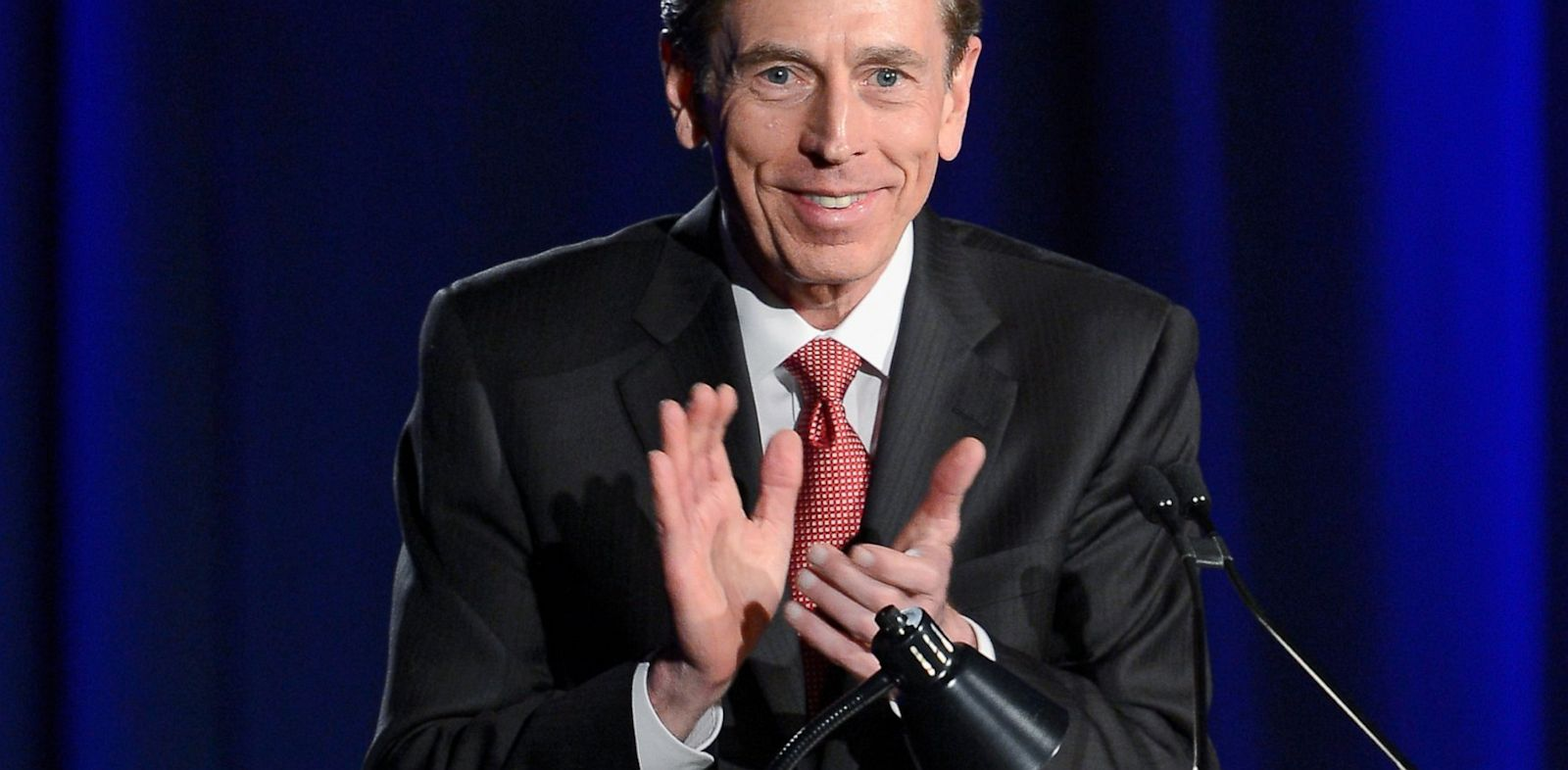 PHOTO: Former CIA director and retired four-star general General David Petraeus