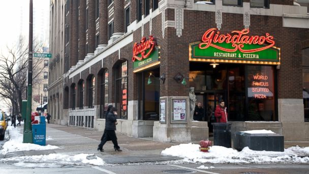 PHOTO: Giordanos Restaurant and Pizzeria in Chicago is seen here.