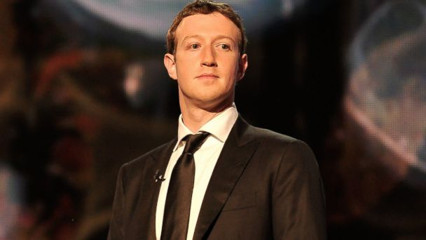 PHOTO: Mark Zuckerberg is a presenter at the 2014 Breakthrough Prizes Awarded in Fundamental Physics and Life Sciences Ceremony at NASA Ames Research Center, Dec. 12, 2013 in Mountain View, Calif.