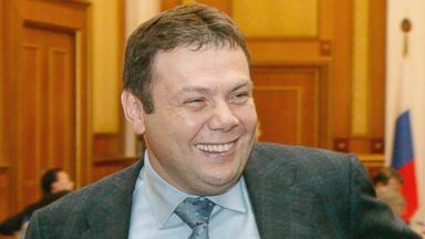 PHOTO: Chairman of the directors board of Russia's Alfa-Bank Mikhail Fridman.