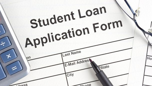 PHOTO: A stock image of a student loan application form.
