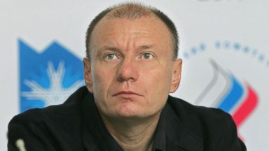 PHOTO: Vladimir Potanin, head of the Interros Holding Company and leader of the lobbying group Russian Union of Industrialists and Entrepreneurs (RSPP) appears at a news conference, June 23, 2006