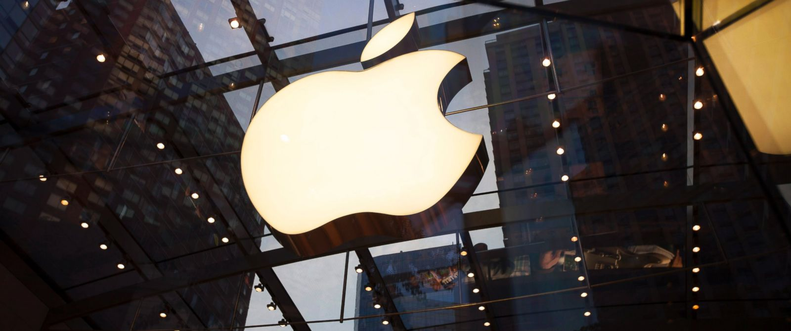 PHOTO: The Apple logo is displayed on July 20, 2014 in New York City.