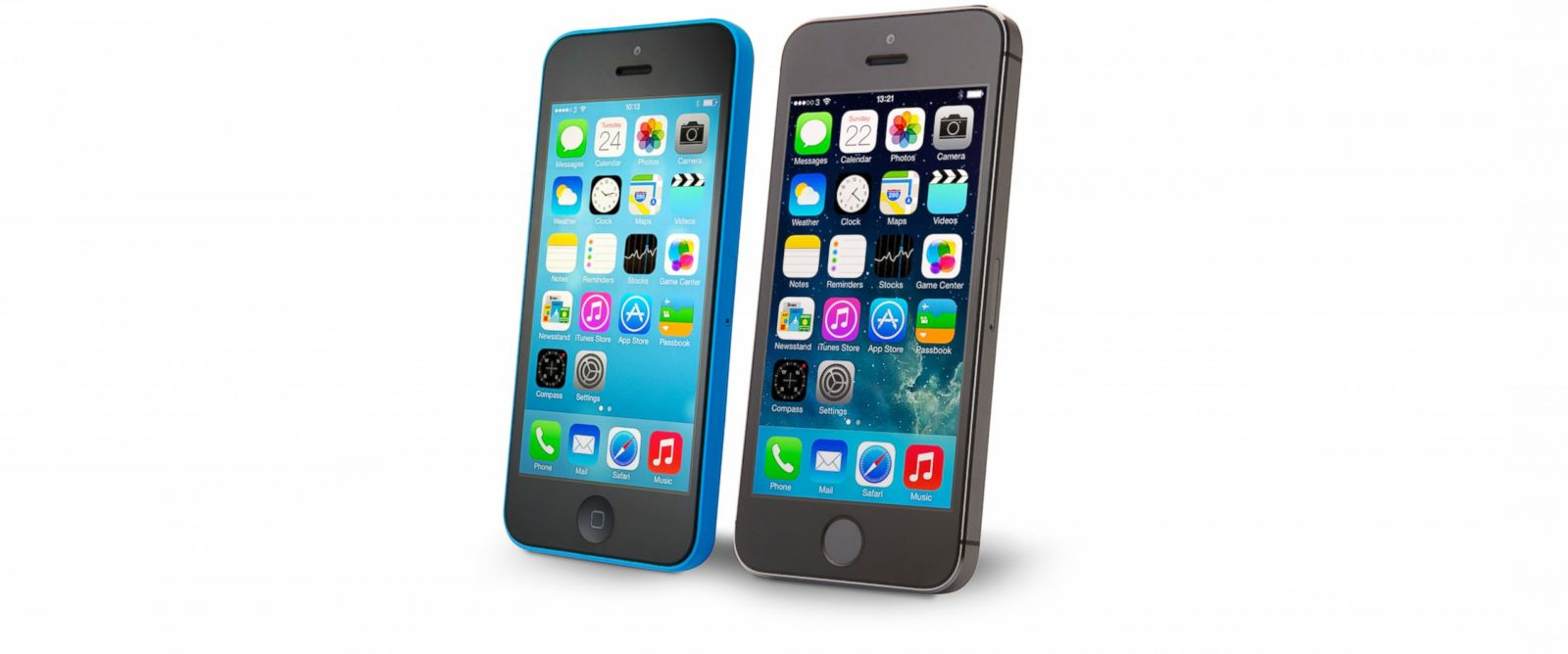 PHOTO: Product photo of an Apple iPhone 5C and iPhone 5S, Sept. 20, 2013.