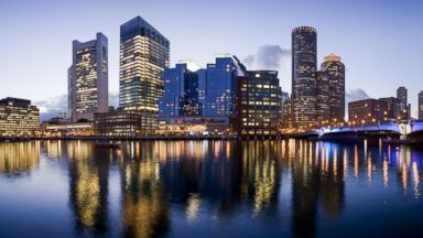PHOTO: In this stock image, the Boston skyline is pictured.