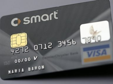 PHOTO: A credit card with an EMV chip is pictured.