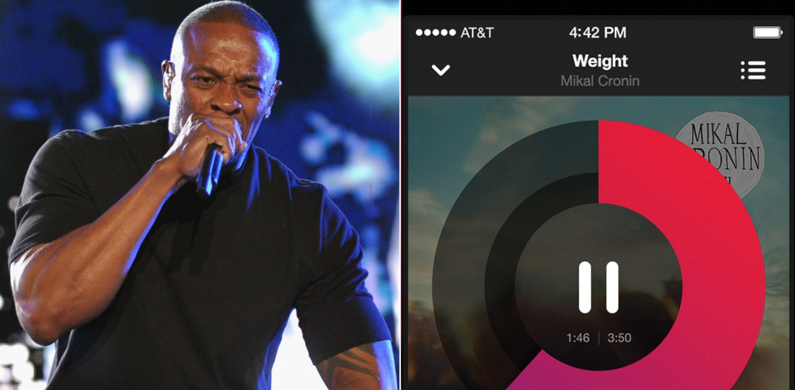 PHOTO: Rapper Dr. Dre performs in Indio, Calif., April 15, 2012. Right Beats Music .