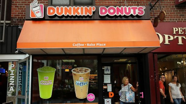 PHOTO: In this file photo, a Dunkin Donuts is pictured on Jul. 25, 2013 in New York City.