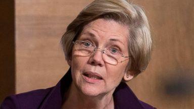 PHOTO: Sen. Elizabeth Warren questions Janet Yellen, chair of the U.S. Federal Reserve, during a Senate Banking Committee hearing in Washington, Feb. 27, 2014.