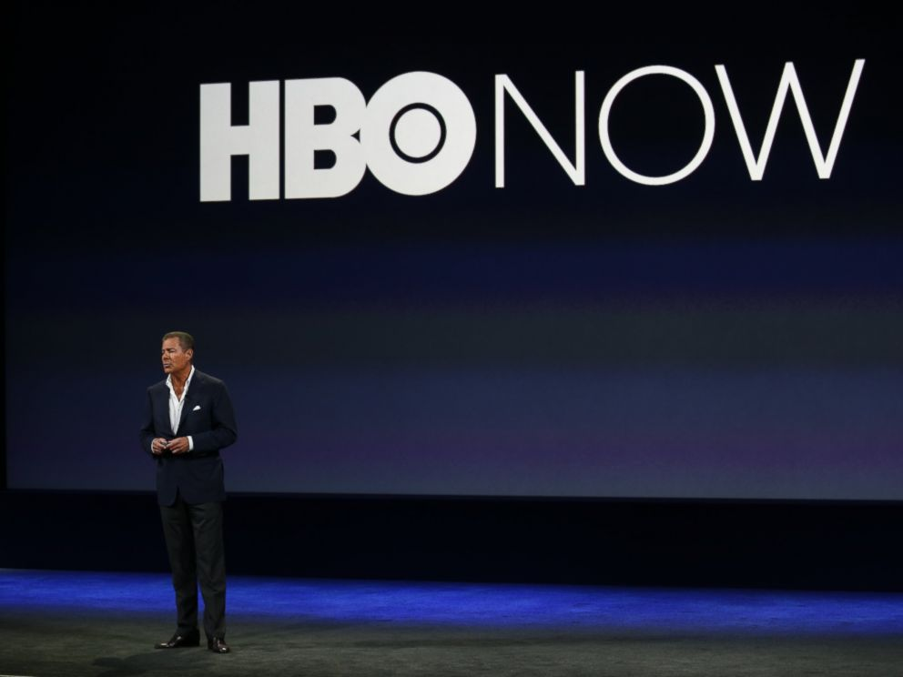 PHOTO: HBO CEO Richard Plepler speaks onstage during an Apple special event