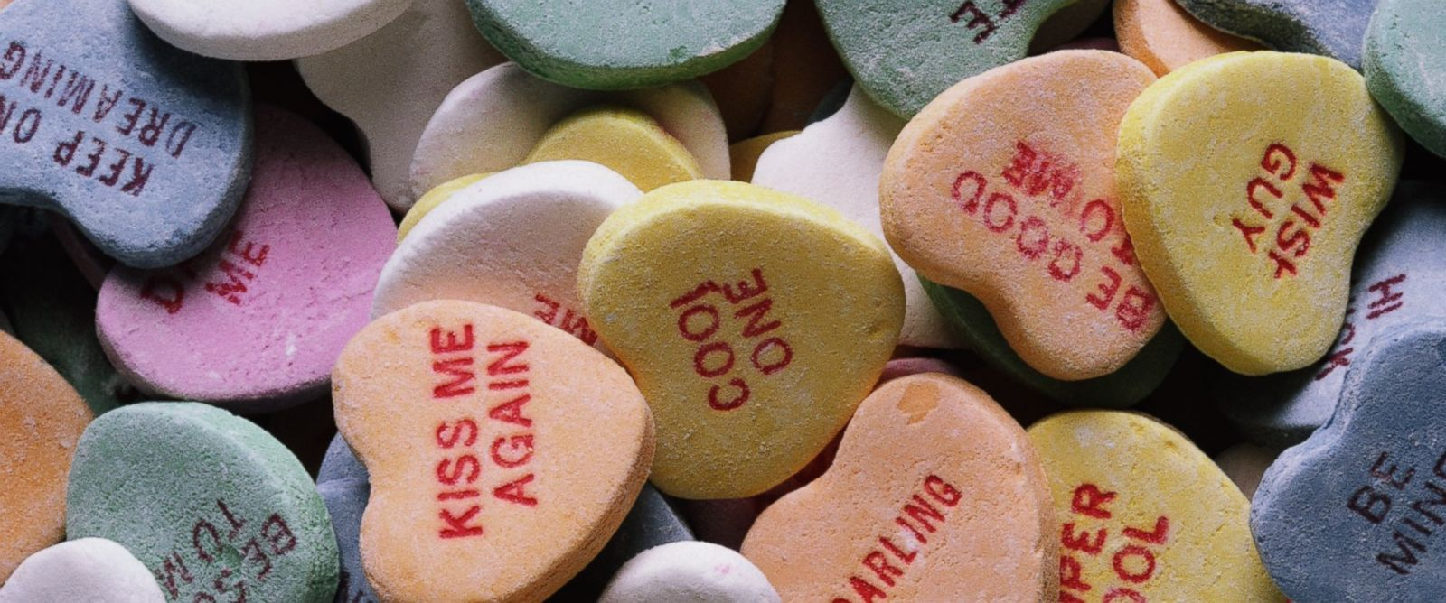 PHOTO: Candy hearts are pictured in this stock photo.