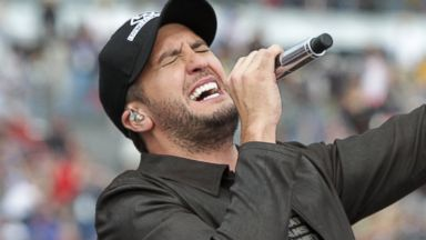 PHOTO: Musician Luke Bryan performs at the Daytona International Speedway, Feb. 23, 2014, in Daytona Beach, Fla.