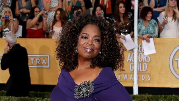 PHOTO: Oprah Winfrey arrives at the 20th Annual Screen Actors Guild Awards at the Shrine Auditorium on Jan. 18, 2014 in Los Angeles, Calif.