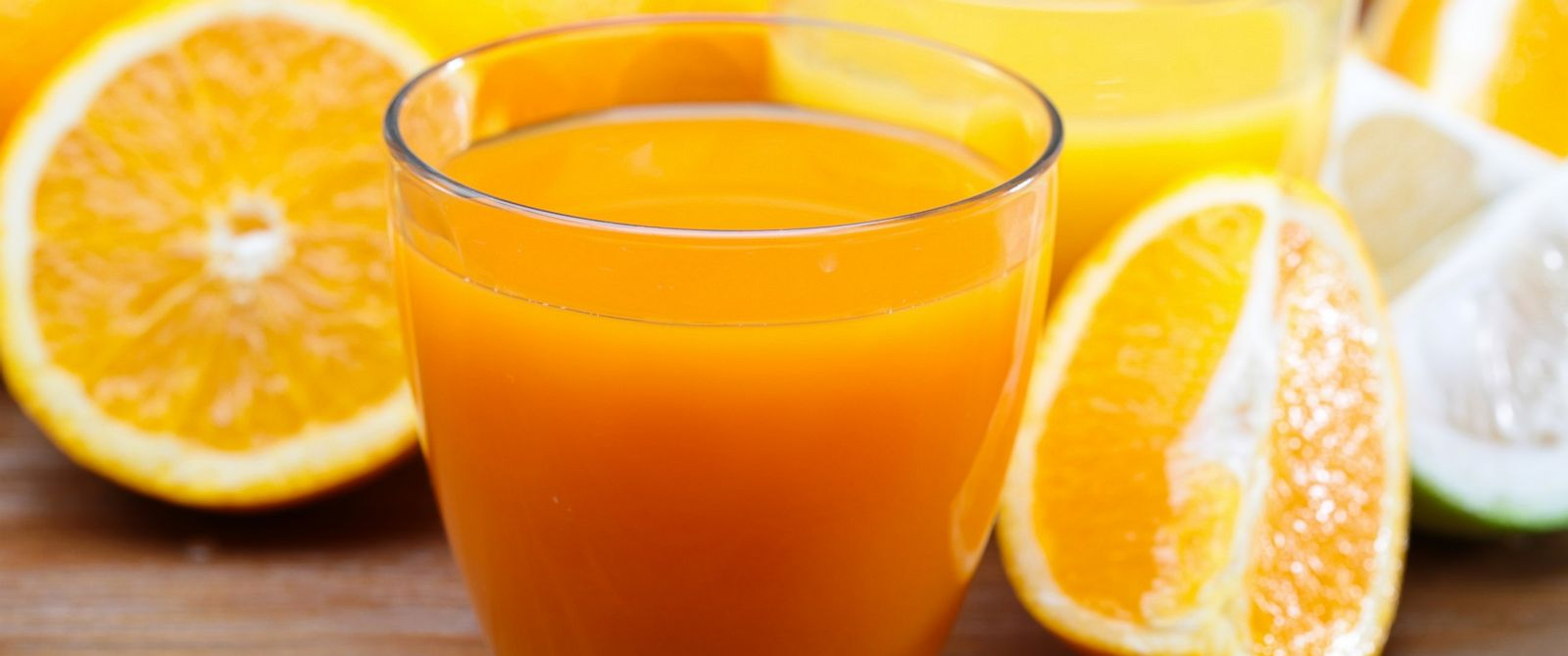 PHOTO: Freshly squeezed orange juice is seen in this stock image.