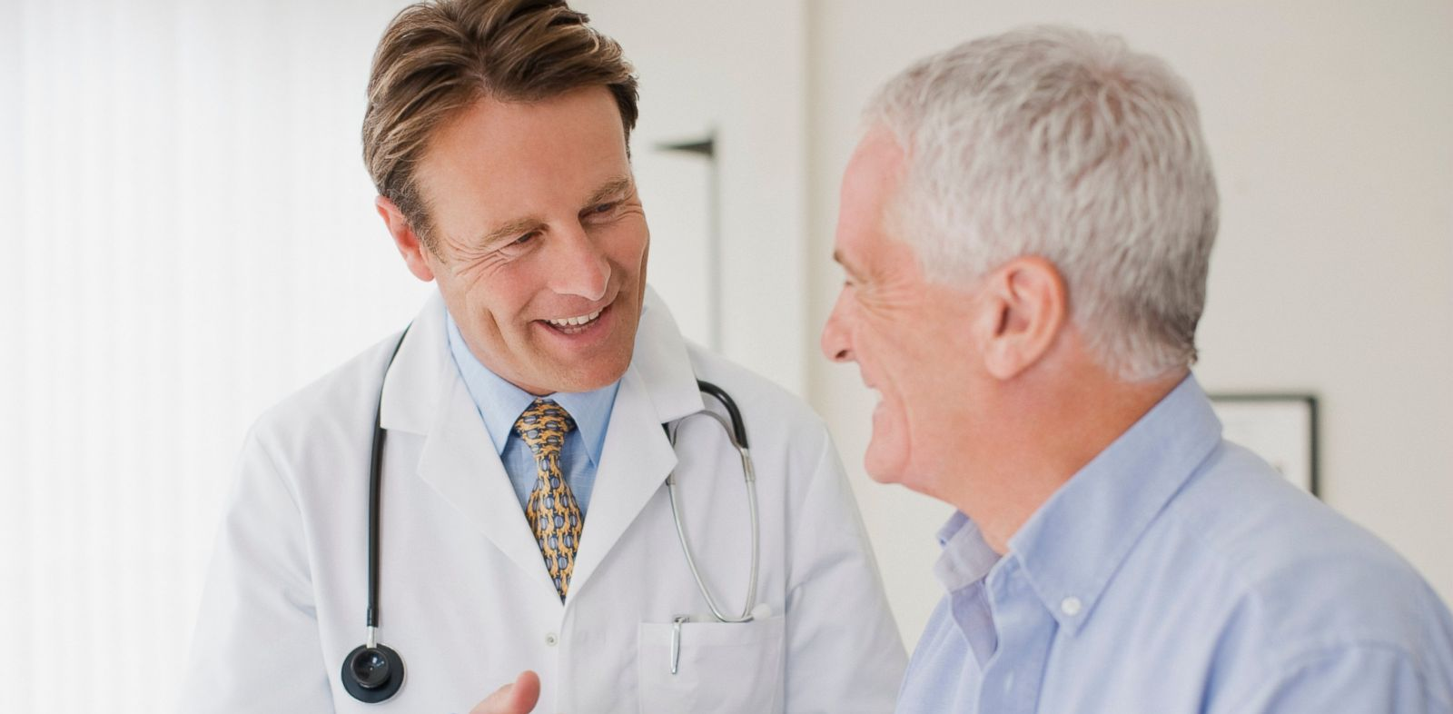 PHOTO: In this undated stock image, a doctor is pictured speaking with a patient.