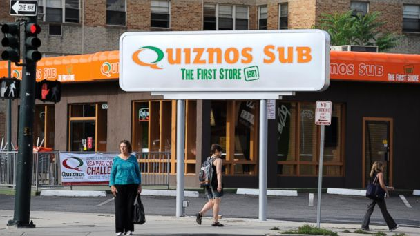 PHOTO: In this file photo, the first Quiznos is pictured in Denver, Colo. on Aug. 19, 2011.