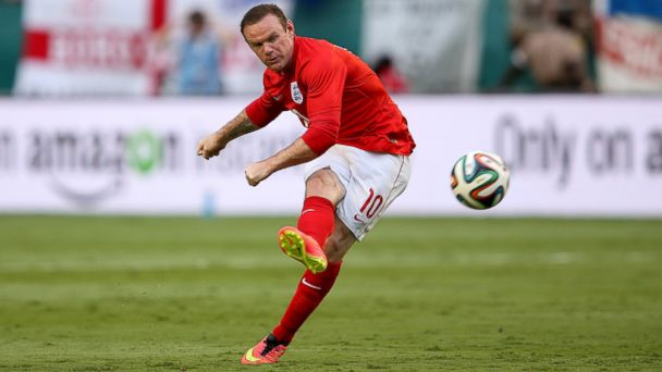 PHOTO: Wayne Rooney of England