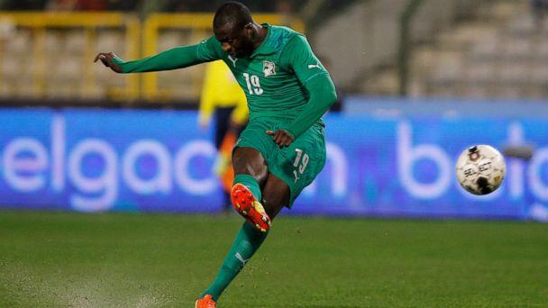 PHOTO: Yaya Toure of Ivory Coast