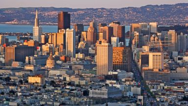 PHOTO: In this file photo, the San Francisco skyline is pictured.