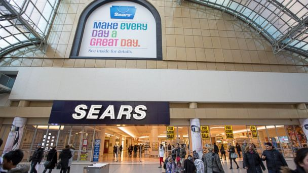 PHOTO: In this file photo, a Sears store located at the Eaton Centre is pictured on its last day of operations on Feb. 23, 2014 in Toronto, Canada.