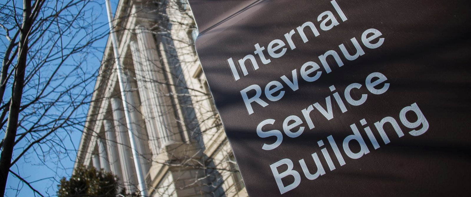 PHOTO: The Internal Revenue Service (IRS) building is viewed in Washington, DC, Feb. 19, 2014.