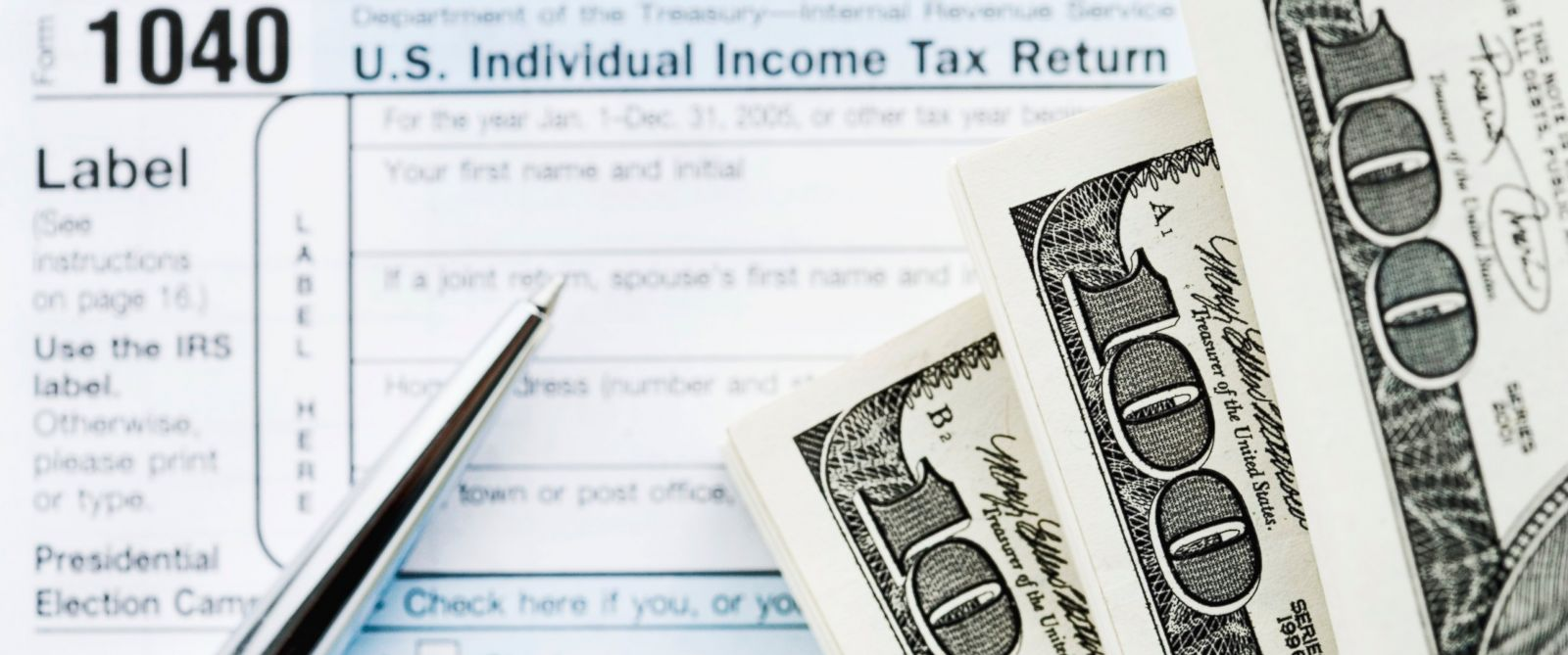PHOTO: Many make financial plans with the expectation of money from a tax refund each year.