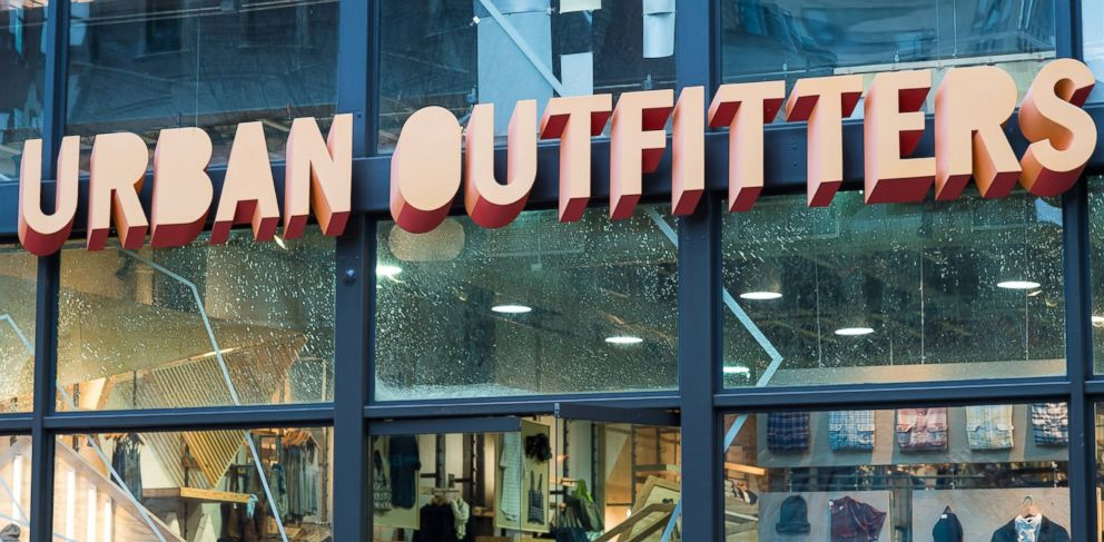 PHOTO: Urban Outfitters retail store sign is seen on Jan. 26, 2015 in Philadelphia.