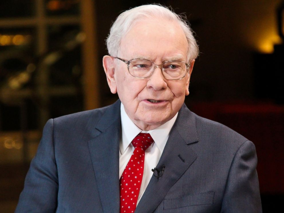 PHOTO: Warren Buffett, chairman and CEO of Berkshire Hathaway, and consistently ranked among the worlds wealthiest people, is seen in an interview with Squawk Box, Feb. 29, 2016.