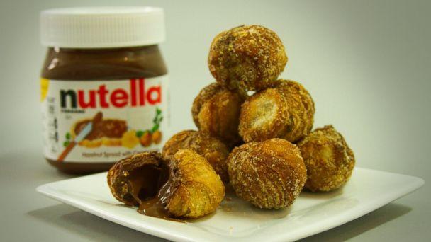 PHOTO: Image of the Nutella Cronut.