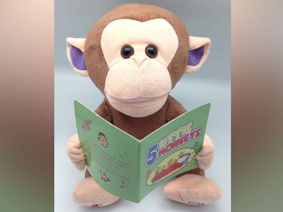 PHOTO: The Giggles International Animated Sing-Along Monkey toy.
