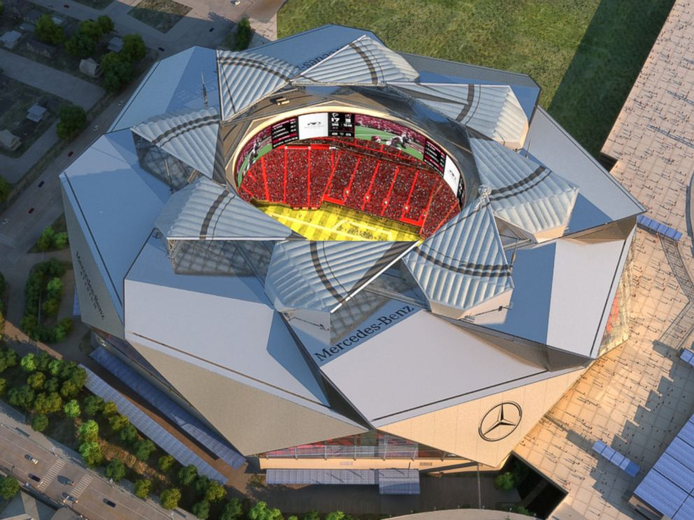 Nfl 39 s atlanta falcons putting an end to price gouging on for Who owns mercedes benz stadium