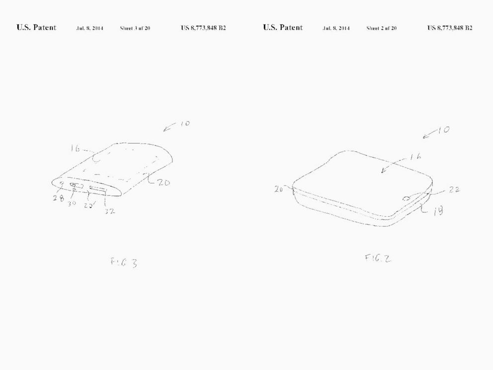 PHOTO: New Apple patent
