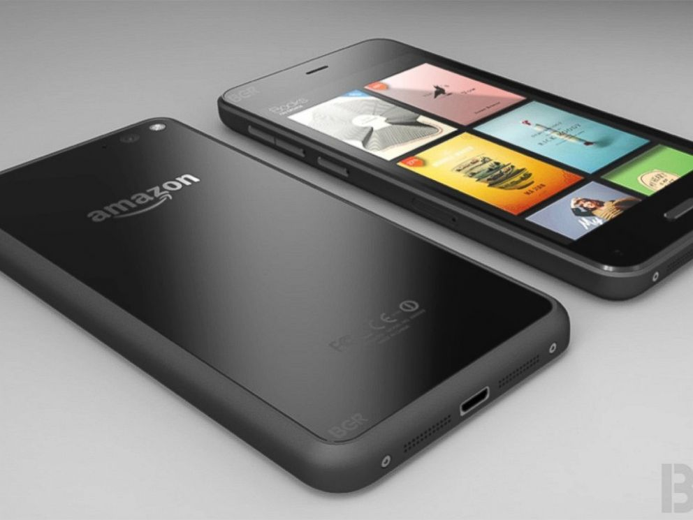 Amazon Unveils New 3-D Fire Phone