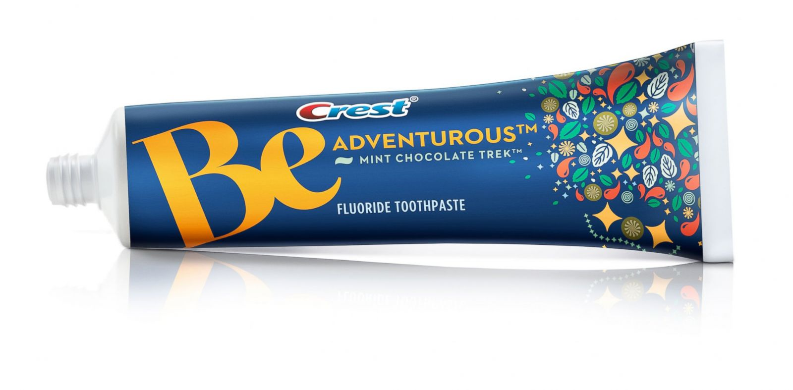 "PHOTO: One of Crests toothpaste flavors from their new line ""Be."""