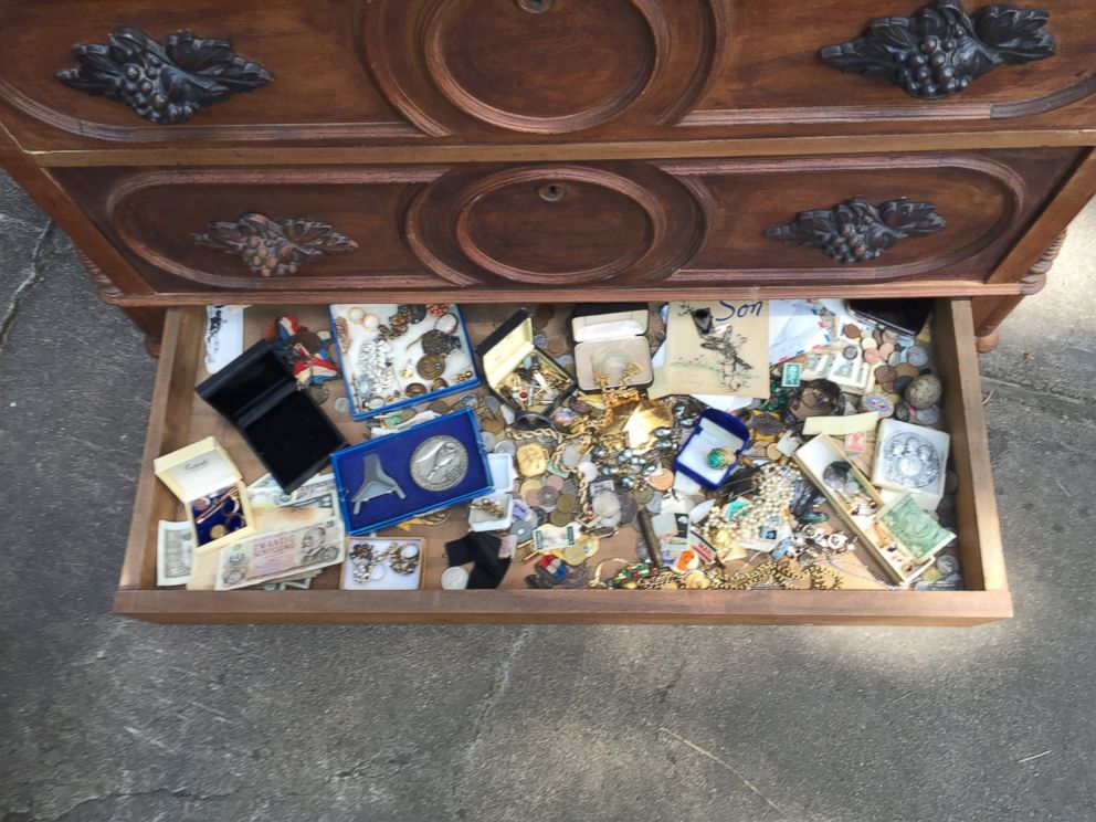 Texas Man Finds Treasure Hidden In Chest From Estate Sale